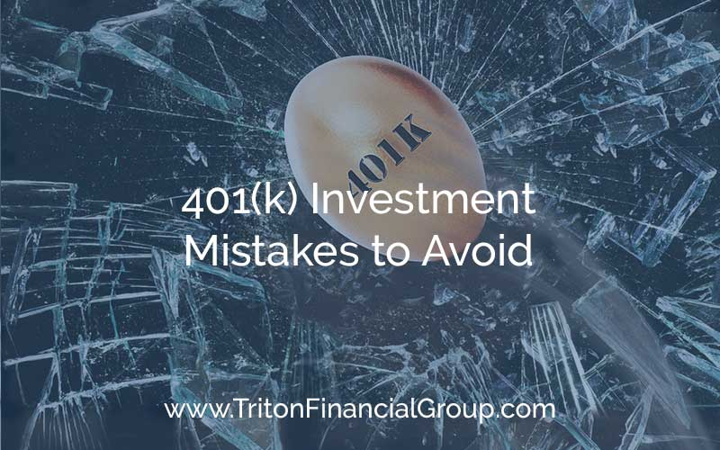 4 Biggest 401K Investment Mistakes to Avoid